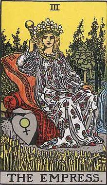 タロットカード「3:女帝」の意味と解釈【恋愛・復縁・片思い占い方法】